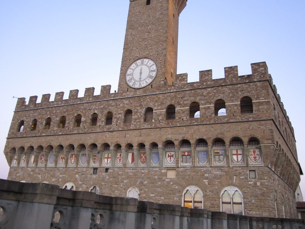 IMG_0724-Florence-Palazzo Vecchio Clock Tower Near the Uffizi